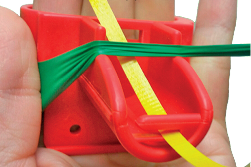 Image of EZ Tie™ Balloon Tying Tool with Ribbon