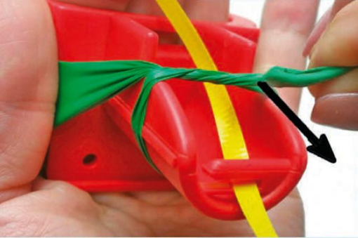 Image of EZ Tie™ Balloon Tying Tool with Ribbon Step 6